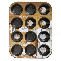 Wiltshire Easybake Muffin Pan 12 CupWiltshire,Cooks Plus