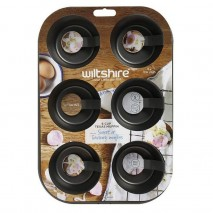 Wiltshire Easybake Texas Muffin Pan 6 Cup Wiltshire,Cooks Plus