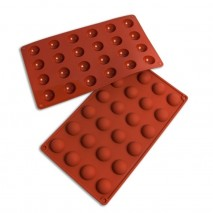 Bake Group Half Sphere Silicone Baking Mould - 28mm