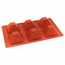 Bake Group Silicone Baking Mould - Small Pyramids Bake
