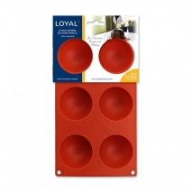 Loyal Half Sphere Silicone Mould 70mm Diameter Loyal,Cooks Plus