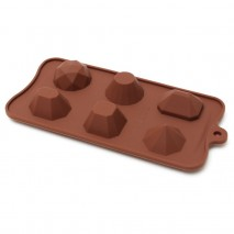 Bake Group Large Gemstone Silicone Chocolate Mould Bake