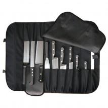 AUSSIE CHEF Knife Wrap 10 pocket Pro Chef,Cooks Plus