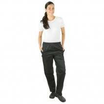 PROCHEF Womens Black Chef PantsPro Chef,Cooks Plus