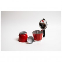 Coffee Culture Red Stove Top Coffee Maker - 6 CupCoffee