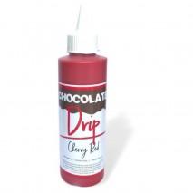 Choc Drip Cherry Red 250gm