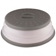 Avanti collapsible microwave food cover - Grey