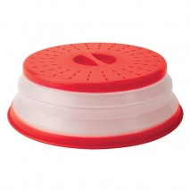 Tovolo Collapsible Microwave Cover- Red Tovolo,Cooks Plus