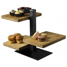 Gusta Serving Tower 3 Tier 245x180x128mm Gusta,Cooks Plus