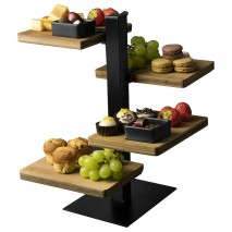 Gusta Serving Tower 4 Tier 360x195x145mm Gusta,Cooks Plus