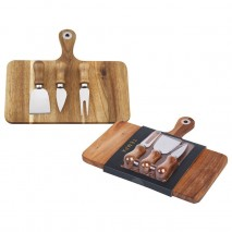 Tempa Fromagerie Rectangle Cheese Board 4pc set