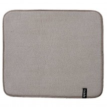 Ladelle Microfibre Dish Drying Mat 41 x 47cm Stone