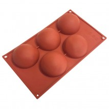 5 Cup Hemisphere Silicone Mould