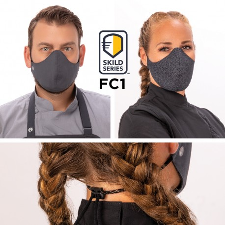 SKILD SERIES FC1 FACE COVERING MASK - 6 pack cost Chef
