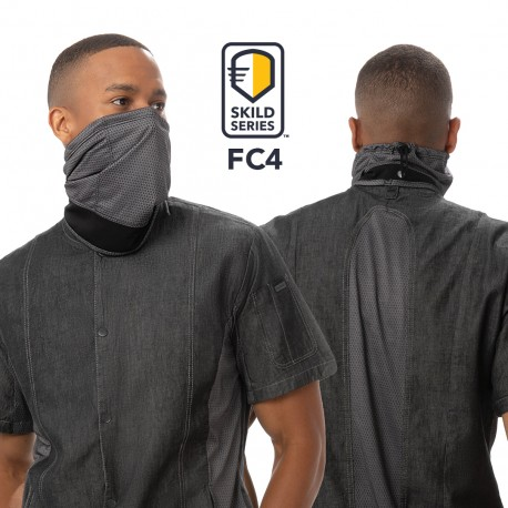 SKILD SERIES FC4 FACE COVERING MASK- 6 pack Chef Works,Cooks
