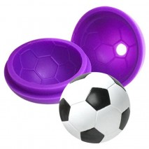 Cake Craft Mould Silicone Soccer Ball Cake Craft,Cooks Plus