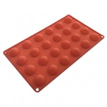 Cake Craft Mould Silicone Hemishere 24cup Cake Craft,Cooks Plus