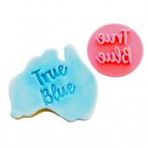 Australian True Blue Cookie Stamp