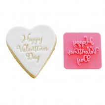 Happy Valentines Day Cookie Stamp
