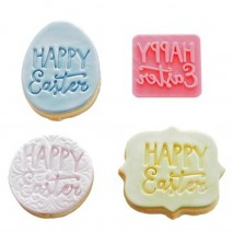 Happy Easter Funky Cookie Stamp