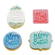 Hoppy Easter Cookie Stamp