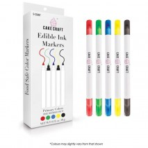 Cake Craft Edible Ink Markers Primary Colours 5 pk
