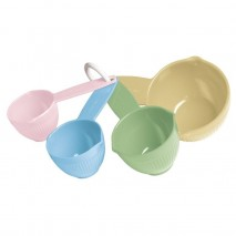 Cuisena Measuring Cup Set Pastel 4pc