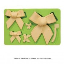 Mould Craft Bow Silicone Mould Assorted