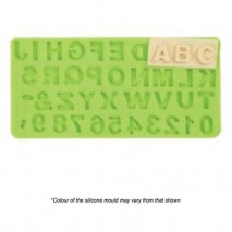 Mould Craft Alphabet and Numbers Silicone Mould