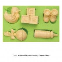 Mould Craft Baby Shower Silicone Mould Assorted