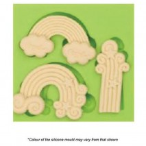 Mould Craft Rainbow Silicone Mould Assorted