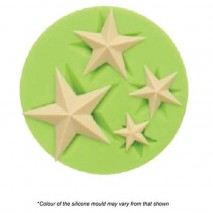 Mould Craft Star Silicone Mould Assorted