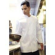 Chef Works Murray White L/S Basic Chef Jacket MUCC XS-XXXL