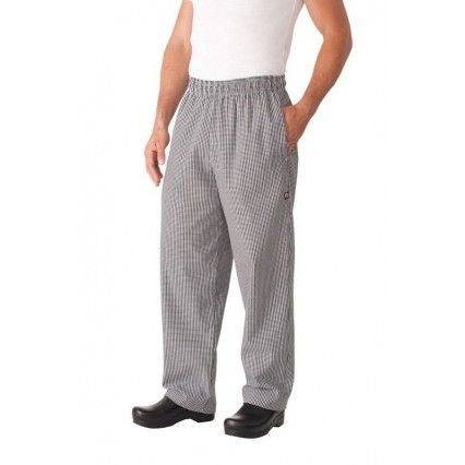 Chef Works Check Baggy Pants NBCP XS - 8XLChef Works,Cooks Plus
