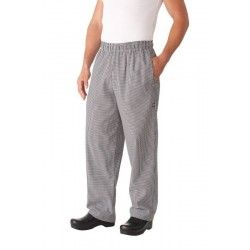 Chef Works Check Baggy Pants NBCP XS - 8XL
