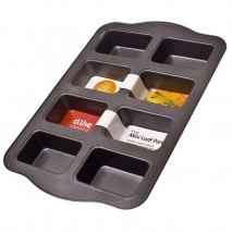 Daily Bake Non-Stick 8 cup Mini Loaf Pan D.Line,Cooks Plus