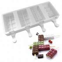 Cake Craft Ice Block-Cube Popsicle Silicone Mould Cake