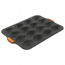 Bakemaster Silicone 16 Cup Madeleine Pan 35.5 X 24.5 X 2CM (6.5