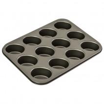 Bakemaster 12 Cup Friand Pan Non Stick 26.5CM X 35.5CM Bake