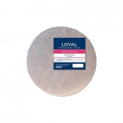 "Loyal Cake Board - Silver - Round - 23cm / 9""Loyal,Cooks Plus"