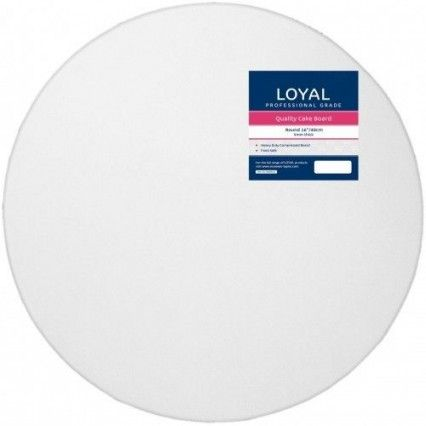 "Loyal Cake Board - White - Round - 40cm / 16""Loyal,Cooks Plus"