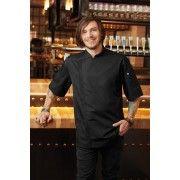 Chef Works Springfield Mens Zipper Chef Jacket BCSZ009 XS-XXXL