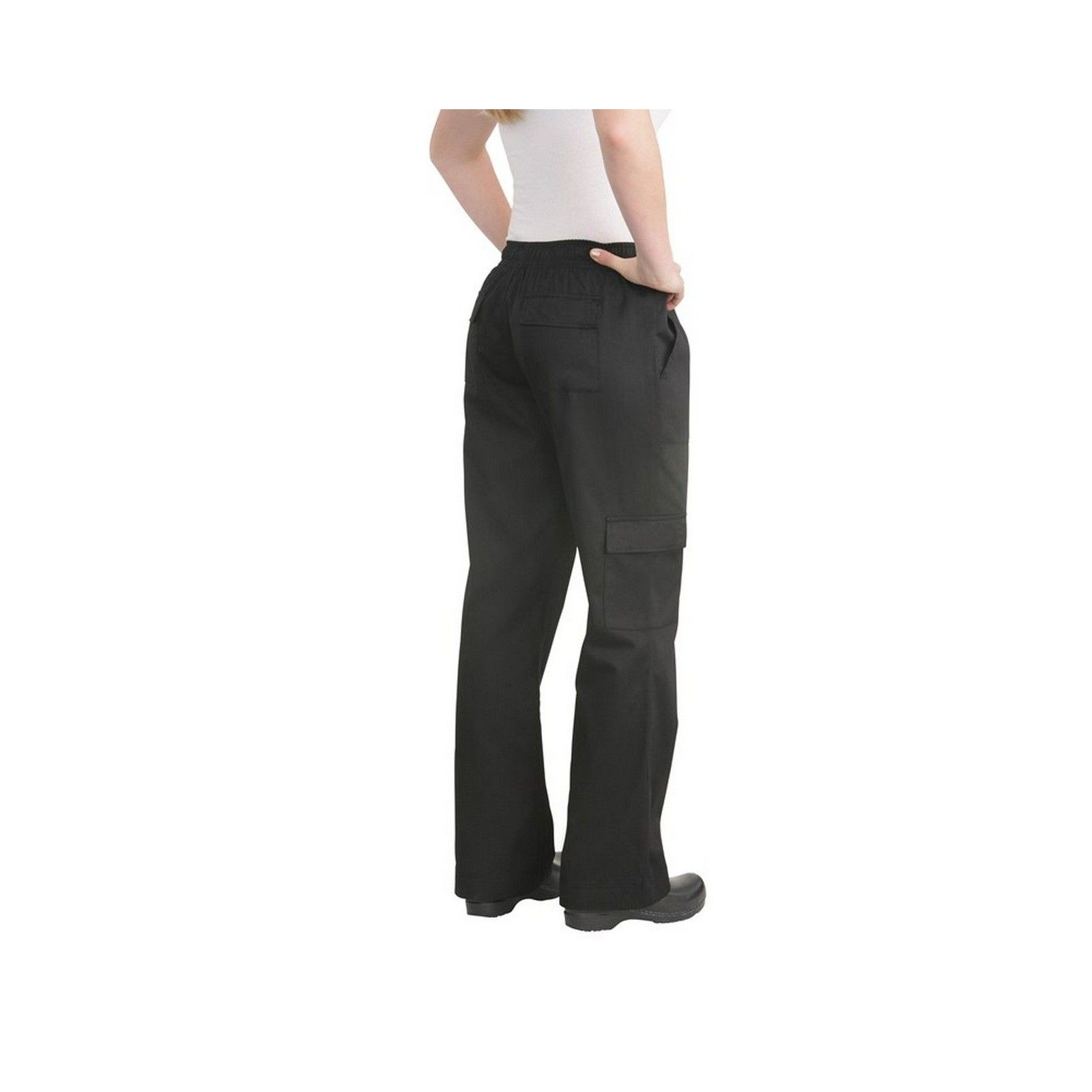 3197d079057 ... Chef Works Women s Black Cargo Chef Pants XS-3XL - CPWO-BLKChef ...