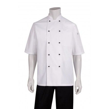 Chef Works Macquarie Jacket - White - MBSS - XL-2XLChef
