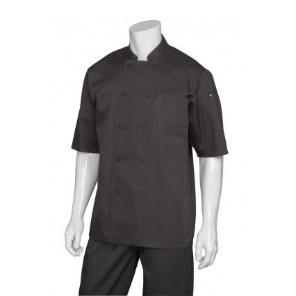 Chef Works JLCV Montreal Coat Black