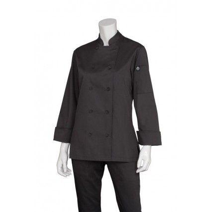 Chef Works Marbella Womens Black Jacket CWLJ-BLChef Works,Cooks