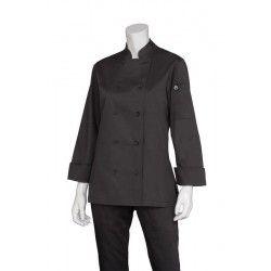 Chef Works Marbella Womens Black Jacket CWLJ-BL