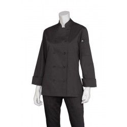 Chef Works Marbella Womens Black Jacket
