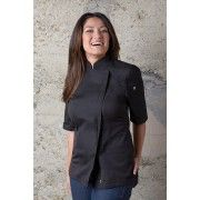 Chef Works Springfield Womens Black JacketChef Works,Cooks Plus