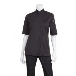 Chef Works Springfield Womens Black Jacket
